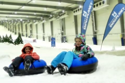 skiing tubing snowplanet #givepresence
