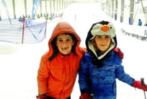 skiing snowplanet #givepresence