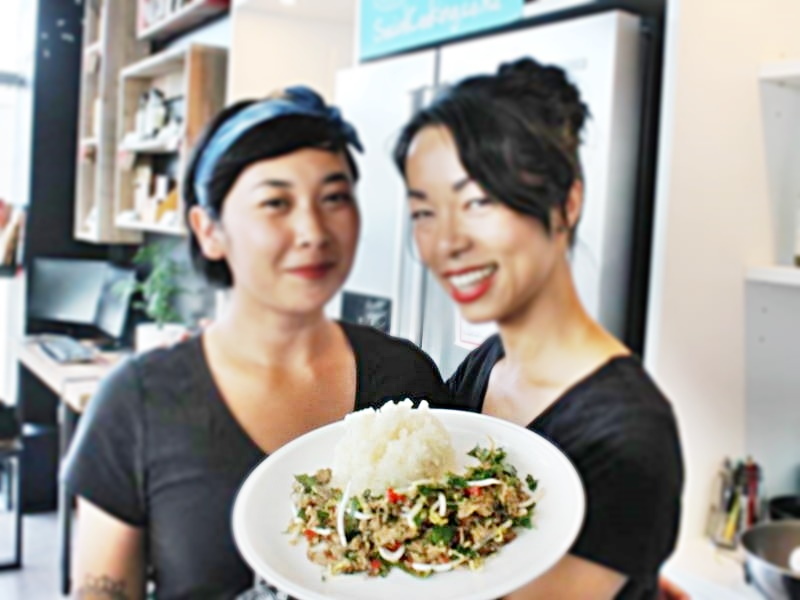 Pork Larb with Dai and Dal (photo courtesy of https://www.facebook.com/SocialCooking.co.nz)