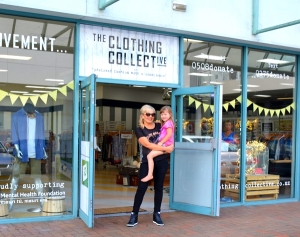 The Clothing Collective in Birkenhead sends 50% of their profits to the Mental Health Foundation.