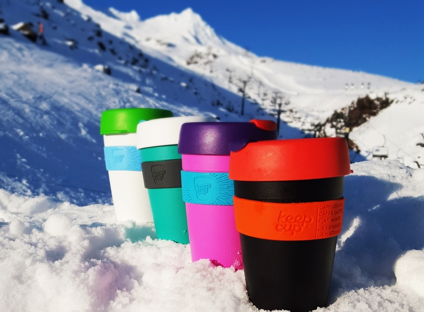 Keep cups not only save you money at our ski field, but cut down the number of disposal cups heading to the landfill.