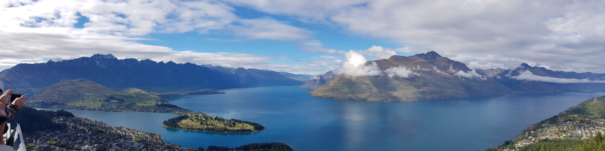 View of Queenstown from the Gondola